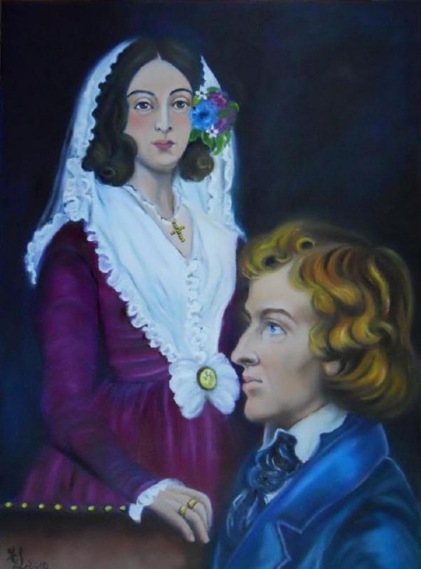 Les amants célèbres: Bicentenaire de Frédéric Chopin (1810/2010)