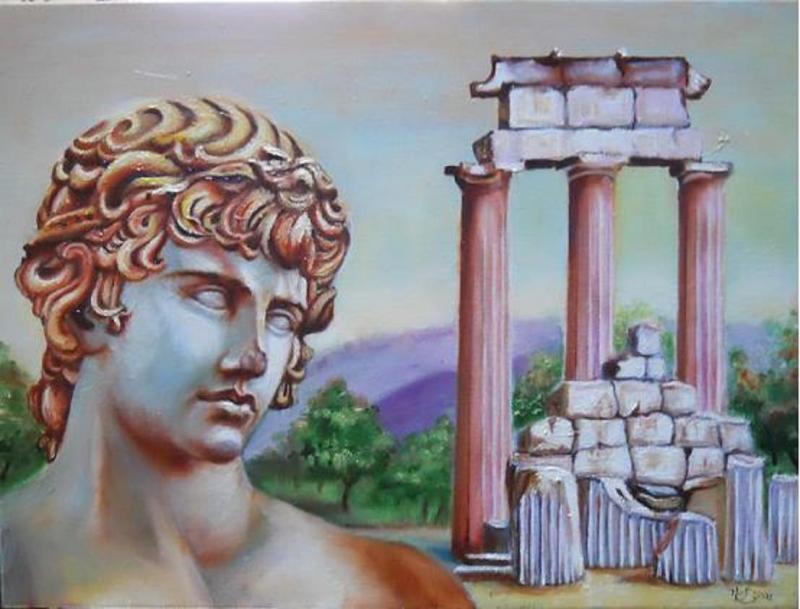 Antinous de Delphes