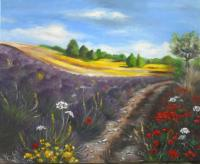 Chemin en Provence