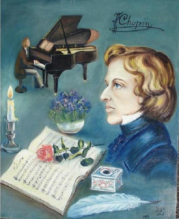Evocation de  Frédéric Chopin (collection privée)
