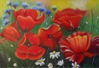 Fleurs des champs (VENDU)