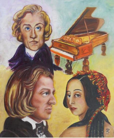 Chopin et Sand