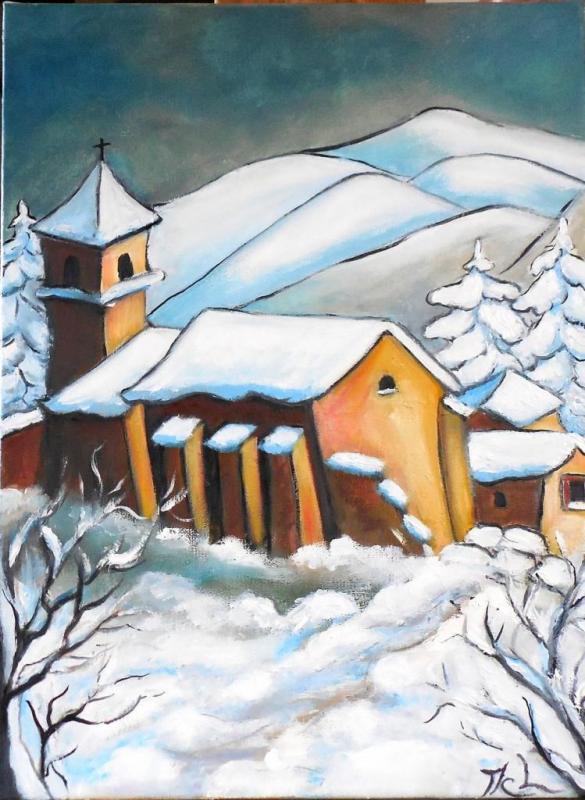 Journée d'hiver (VENDU)