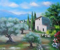 L'oliveraie (VENDU)