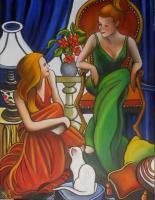 La conversation (collection privée)