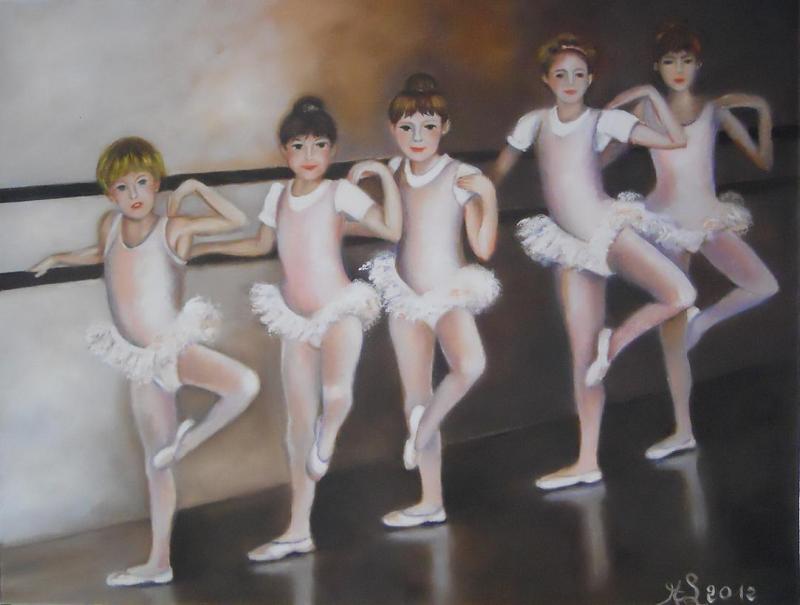Le cours de danse des petites