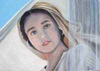 La jeune Marie (d'après le film de Franco Zeffirelli) (collection privée)