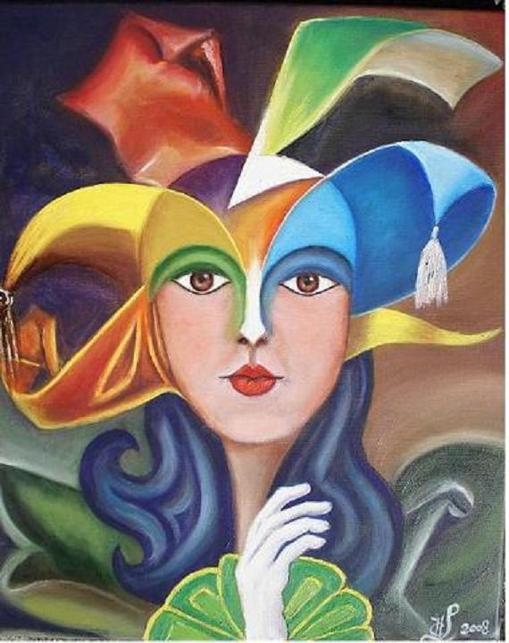Carnaval de Venise : Masque moderne