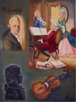 Mozart composition au violon