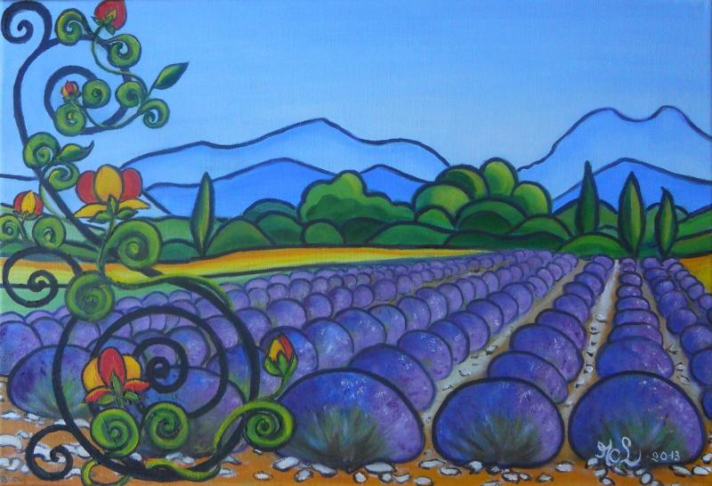 Provence ensoleillée- VENDU