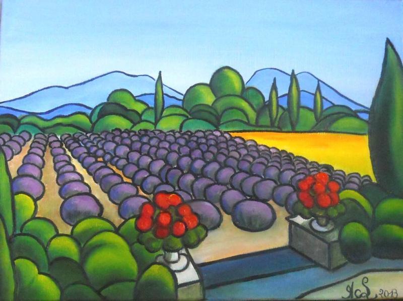 Provence et lavandes
