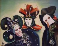 Carnaval de Venise : Trois masques