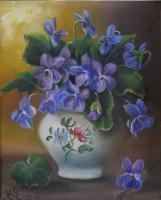 Violettes (VENDU)